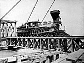 US Civil War train,1863