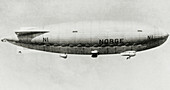 Airship that made first flight over North Pole