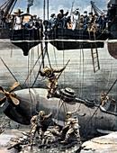 Submarine rescue,1905