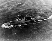First nuclear submarine Nautilus,1955