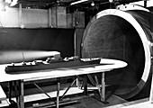Wind tunnel ship testing,1952