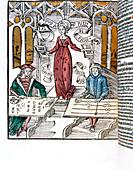 Ilustration from La Margarita Philosophica