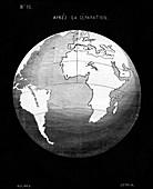 Snider-Pellegrini geological theory,1858