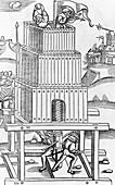 Roman siege machine