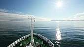 Svalbard research ship