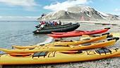 Svalbard kayakers