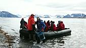 Svalbard tourists