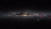 Tarantula Nebula, Large Magellanic Cloud