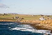 Wind power,Orkney,UK