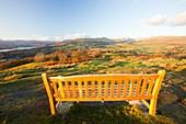 Memorial seat on Orrest Head
