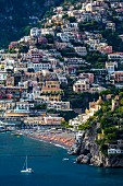 The old town of Positano, Amalfi coast, Italy
