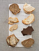 Assorted Low-GI-bread