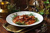 Spicy venison ragout