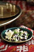 Turkish Eggplant Salad with Yogurt (Yogurtlu Patlican Salatasi)