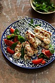 Turkish Chicken Kebab (Tavuk Sis)