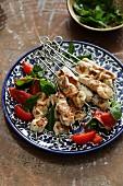 Turkish Chicken Kebab (Tavuk Sis)