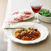 Lamb and Bean Stew