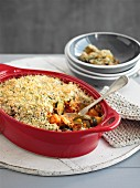 Deep-Dish Vegetable Crumble