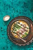 Ham and asparagus bake