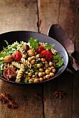 Spicy pasta salad