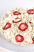 Muesli with sun-dried strawberries