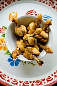 Nong Big Gai Opp (oven-roasted chicken legs with rosemary)