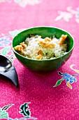 Khao Pad Sai Gratiem (fried rice with garlic, Thailand)