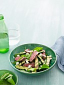 6 Ways with Fetta - Warm Lamb, Zucchini & Fetta Salad