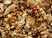 Gluten-free, sugar free muesli mixture
