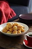 Fritierte Kartoffelbällchen