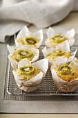 Wholemeal Kiwifruit Muffins