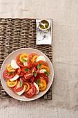Colourful Caprese Salad