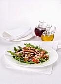 Gemischter Salat mit Kalbfleisch