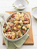 Baked Gnocchi with Spinach & Prosciutto