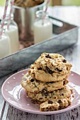 Chocolate Chip Cookies mit Esskastanien
