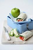 Lunch Box Legends - Salad Tortillas