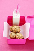 Lunch Box Legends - Oat and Raisin Cookies