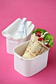 Lunch Box Legends - Salad Wrap
