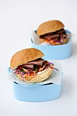 Lunch Box Legends - Roast Beef and Coleslaw Rolls