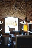 Gert De Mangeleer's storage cellar, Restaurant Hertog Jan De Hoeve, Belgium