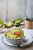Hausgemachte Avocado-Guacamole