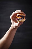 Vegetarischer Mini-Burger
