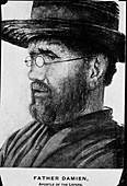 Damien de Veuster,Belgian priest