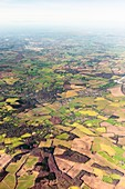 English countryside,aerial photograph
