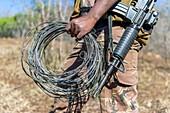 Snares found in anti-poaching patrol
