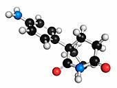 Aminoglutethimide anti-steroid molecule