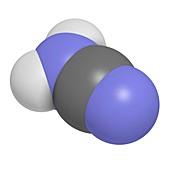 Cyanamide molecule