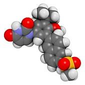 Dasabuvir hepatitis C virus drug molecule