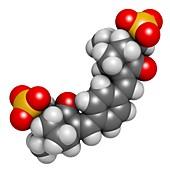 Ecamsule sunscreen molecule