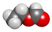 Ethylhexyl triazone sunscreen molecule